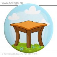 Kitűző: Asztal