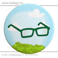Kitűző: Szemüveg