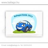 Jeles tarisznya: Autó-kék