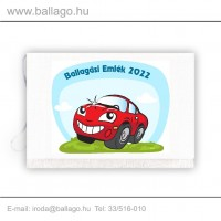 Jeles tarisznya: Autó-piros