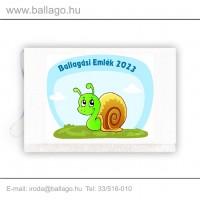 Jeles tarisznya: Csiga-zöld