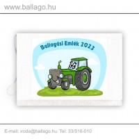 Jeles tarisznya: Traktor-zöld