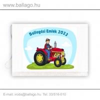 Jeles tarisznya: Traktoros-piros
