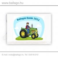 Jeles tarisznya: Traktoros-zöld