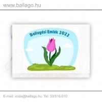 Jeles tarisznya: Tulipán-pink