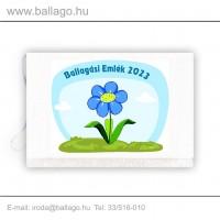 Jeles tarisznya: Virág-kék