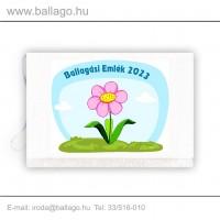 Jeles tarisznya: Virág-rózsaszín