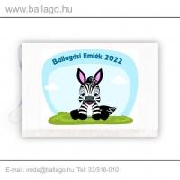 Jeles tarisznya: Zebra