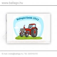 Jeles tarisznya: Traktor-piros
